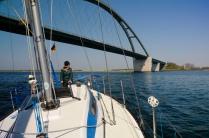 Fehmarnsundbrücke - reicht für heute.