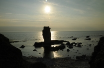 Rauke-Formationen an Färös Nordküste