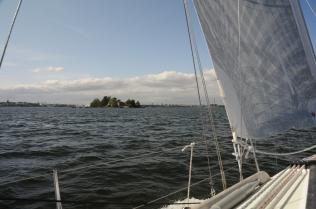 Helsinki: ein erster Blick von See aus