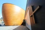 Raum der Stille; ruhige Architektur