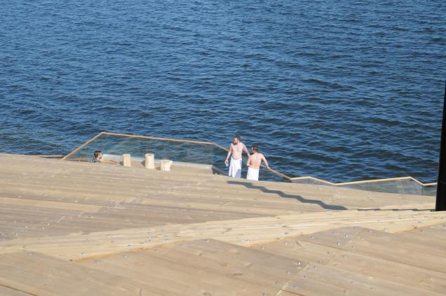 Helsinki hat eine starke Kultur der öffentlichen Design-Saunas