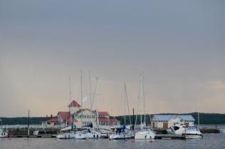 Tammissari: Hafen