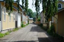 Tammissari: Holzhäuser