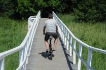 Tammissari: it den Rädern durch´s Naturschutzgebiet