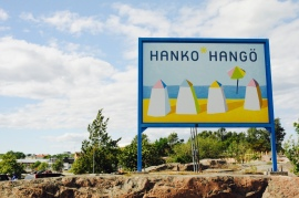 Hanko, die südlichste Stadt Finnlands.