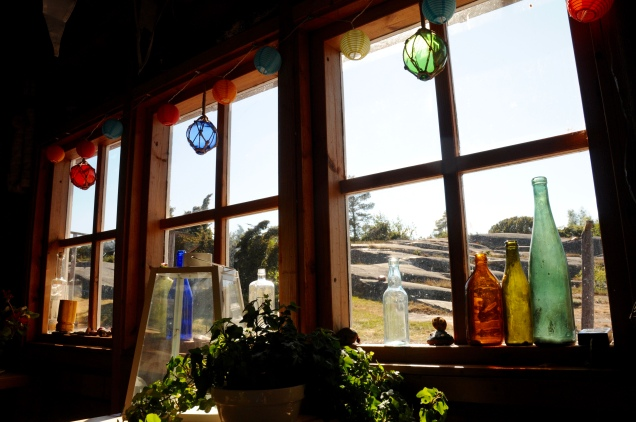 Liebevoll gestaltetes Café auf Rödhamn