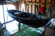 Rödhamn - Küche = Bootsgarage