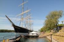 In Mariehamn liegt die Pommern, einer der letzten Frachtsegler