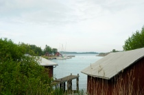 Hafen in Seglinge
