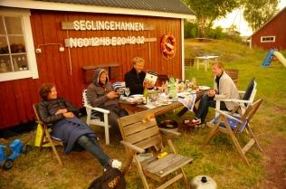 Moni, Felix, Henning und Katharina