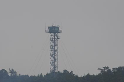 der Turm in Glada Laxen