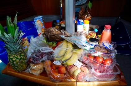 Die Wocheneinkäufe in Uusikaupunki