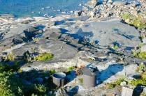 Die Sauna am Steinstrand