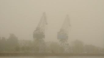 schon wieder Nebel..