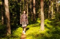Herrlich zum Wandern in den Blaubeerwäldern!