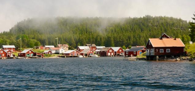 Der Ort ist Bilderbuchschweden