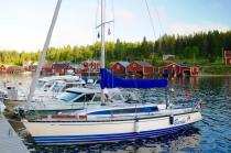 Trysunda Hafen