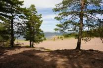 Strand im Naturschutzgebiet