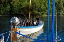 Besuch von Rekruten der schwedischen Marine