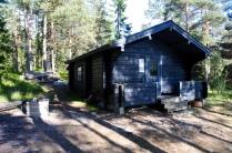 Wandererhütte von außen...