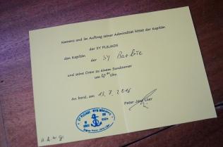 Offizielle Einladung!
