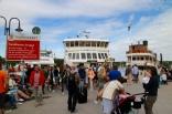 Sandhamn - reges Fährtreiben