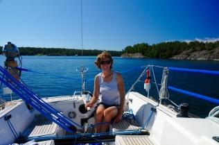 seglen bei glattem Wasser ist herrlich!