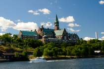 Stockholm beim Einlaufen 1