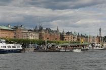 Stockholm beim Einlaufen 2