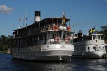 Göta-Kanal: Ausflugsdampfer