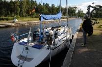 Göta-Kanal: Liegeplatz für die Nacht