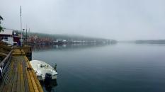 Ulvö im Nebel