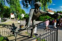 Denkmal des unbekannten Schleusers