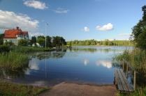 Schöne Landschaften am Göta-Kanal