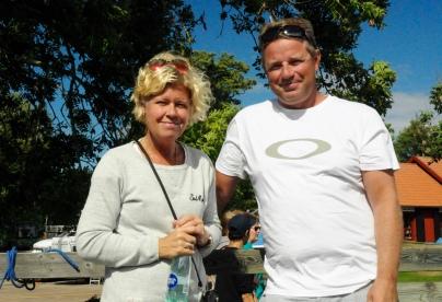 Annsofie und Pär, unsere neuen Motorbootfreunde aus Göteborg