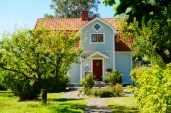 Niedliche Häuser um Spiken