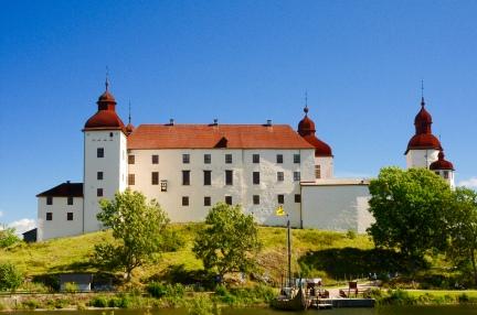 Schloss Läckö bei perfektem Wetter