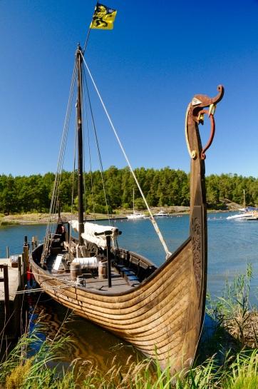 Wikingerboot Nachbau