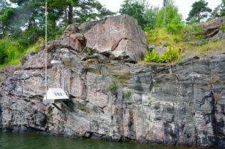 Der Kanal wurde teils in der Fels gehauen