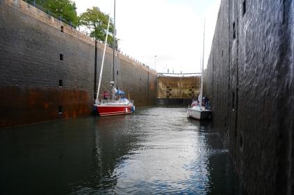 Viel Platz für große Schiffe