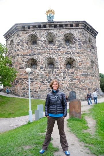 Göteborg - Festungsturm mit Moni