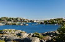 Eine rundum geschützte Bucht