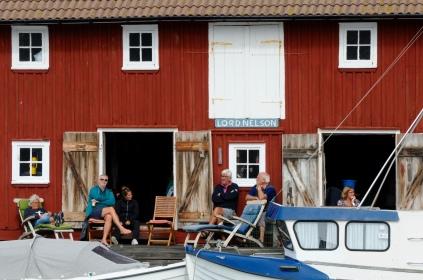 Abends in Gullholmen