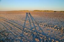 Skagen - lange Schatten am Nordseestrand