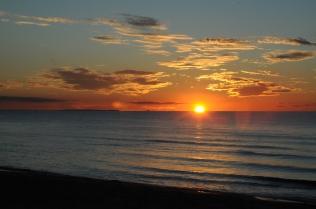 Laesö - Sonnenuntergang