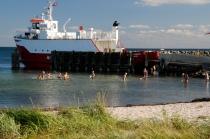 Badespaß am Hafen