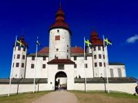 Schloss Läckö von vorn