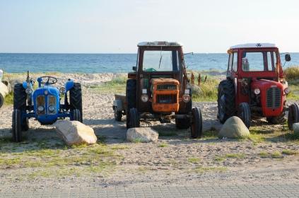 Beliebtestes Fahrzeug auf Tunø