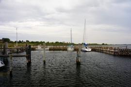 Kleiner Hafen, max. Tiefgang 1,50m!