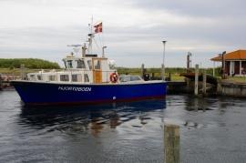 Hjortø Fähre ist mehr ne Motoryacht